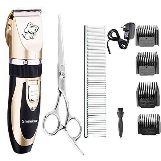Yidon Dog Clippers Low Noise Cordless Rechargeable Professional Dog Grooming Kit For Dogs Cats Pets Upgrade Dog Supplies Online In 2020 Dog Clippers Dog Grooming Dog Grooming Clippers