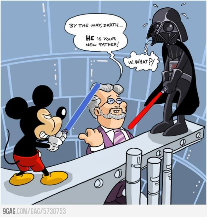 Darth He Is Your What Disney Star Wars Funny Star Wars Memes Star Wars Comics