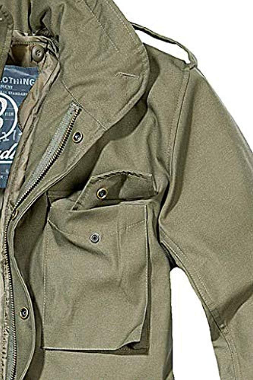 Brandit mens m65 classic jacket olive size s at amazon