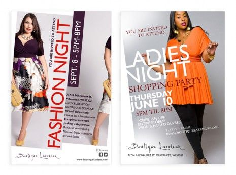 Ladies Fashion Night Flyer  Boutique Flyer Design