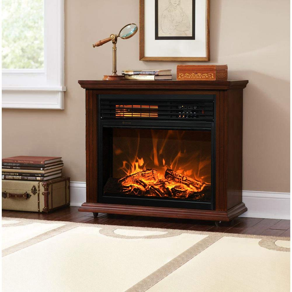 Top 10 Best Portable Infrared Heaters Review Bestreviewy Com Fireplace Heater Best Electric Fireplace Electric Fireplace