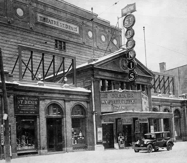 Le Théâtre St-Denis, #Montreal, 1925