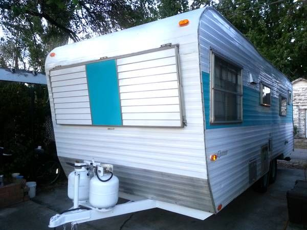 1967 Kit Companion Remodeled campers, Travel trailer