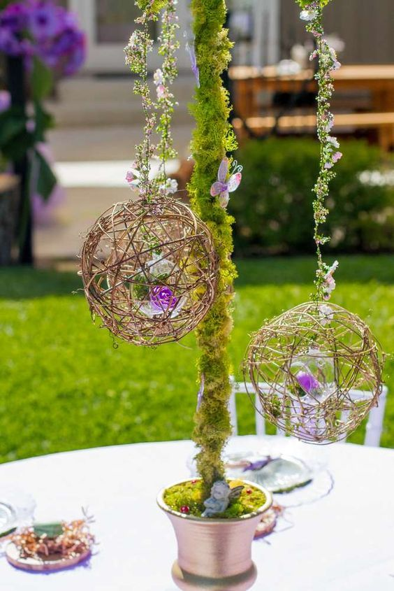 Fairy Garden Birthday Party Ideas | Pinterest | Garden birthday ...