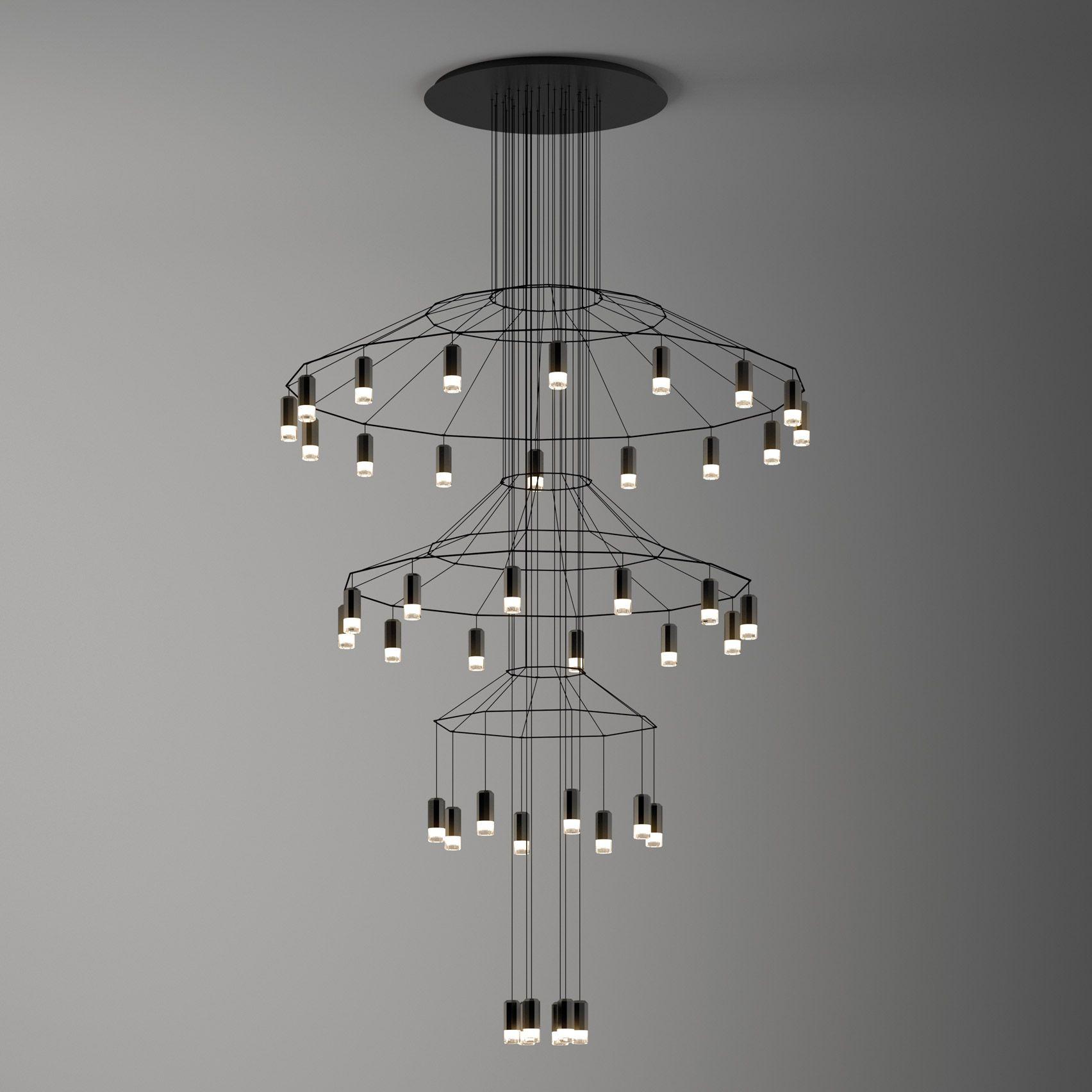 Dezeen promotion Spanish brand Vibia s Crea lighting collection