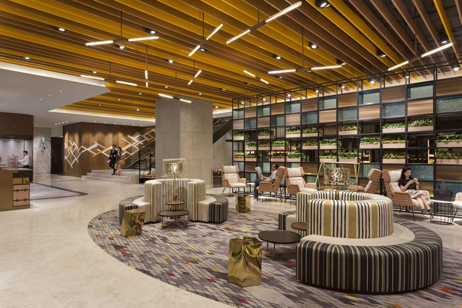 Hotel jen tanglin singapore mainlobby · luxury hotelssingapore