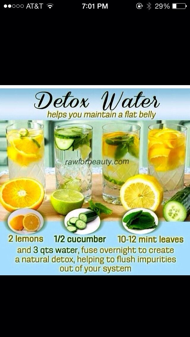 Healthy Overnight Detox Drink Detox Water Natural Detox Healthy Detox