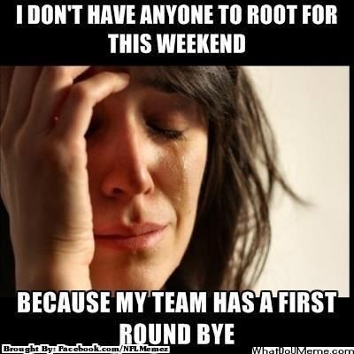 #playoffproblems #denverbroncosfans #firstroundbye