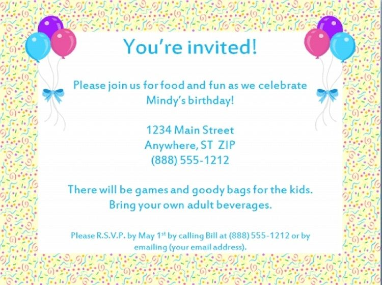 Wondrous How To Write A Birthday Invitation Card In French Party Invite Funny Birthday Cards Online Elaedamsfinfo