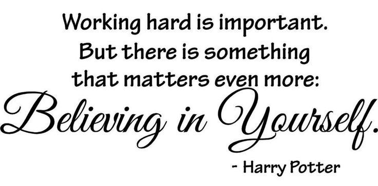 believing in yourself harry potter quotes harry potter hp quotes