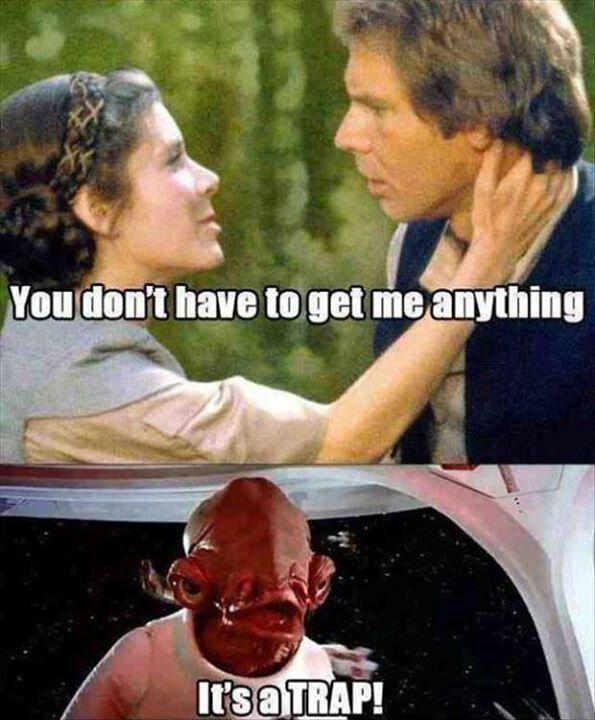 it IS a trap! lol