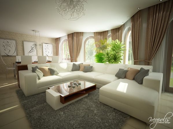 bright and inviting modern living rooms for the spring for the home. Black Bedroom Furniture Sets. Home Design Ideas