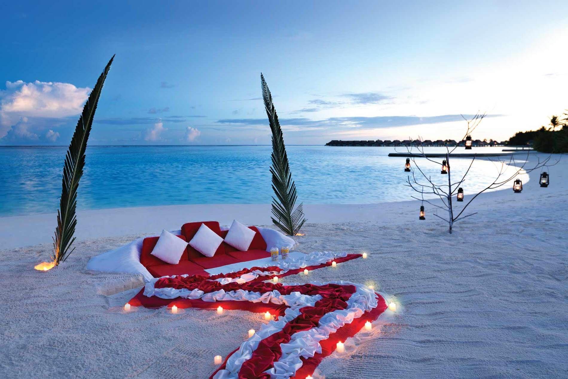 Romantic Private Dining At Niyama Private Island Maldives