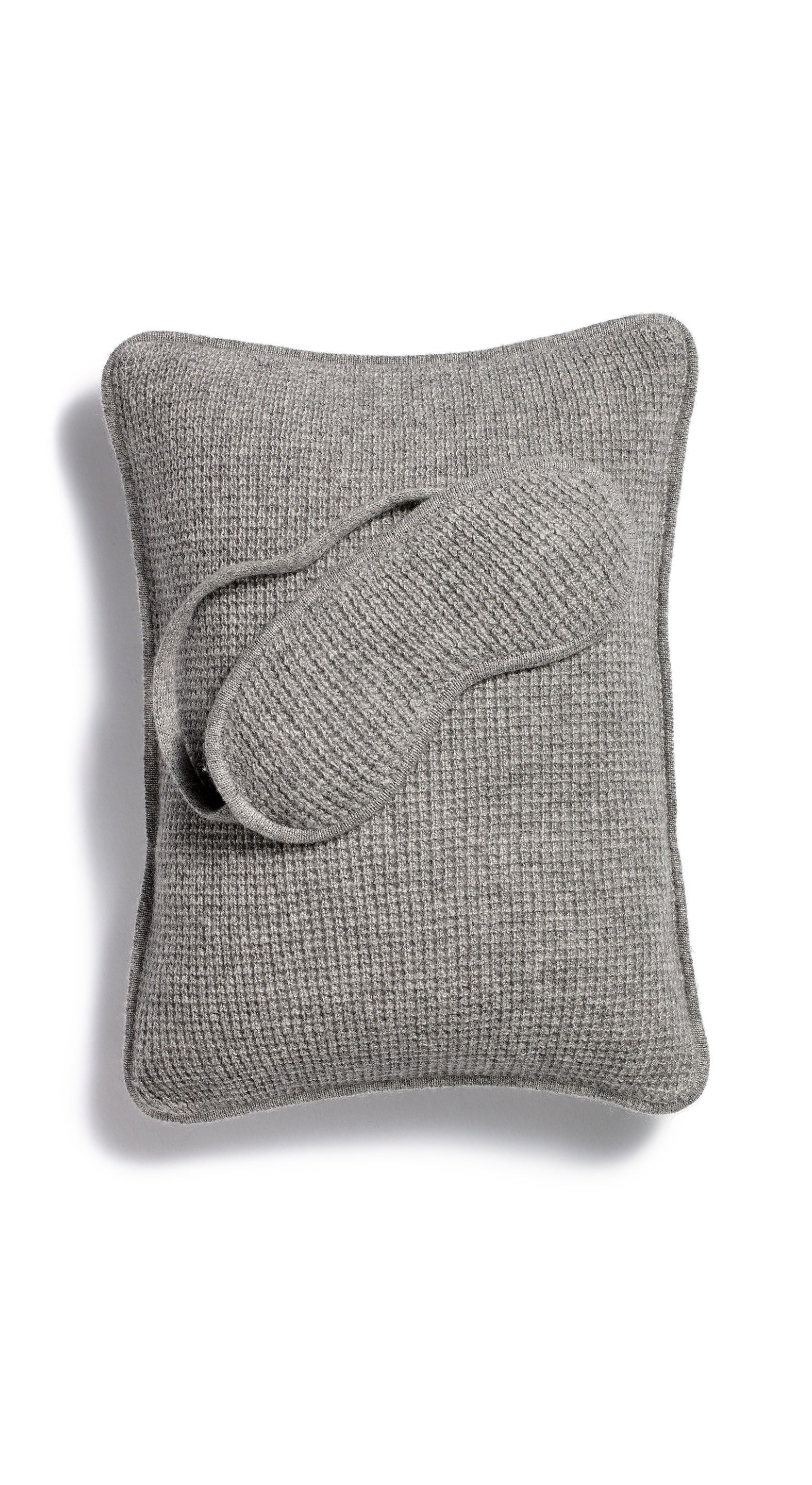 The perfect gift for the avid traveler cashmere eye mask u pillow