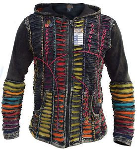 Details about Funky Jacket Psychedelic Gothic Cotton Light