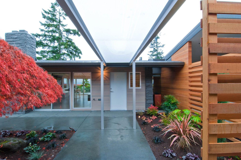 Innis Arden Remodel Modern Landscape Design Modern Landscaping Contemporary House Design