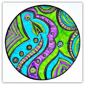 Lesson 100 A Course In Miracles Expressive Art Mandala