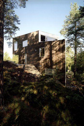 triangle house by jva