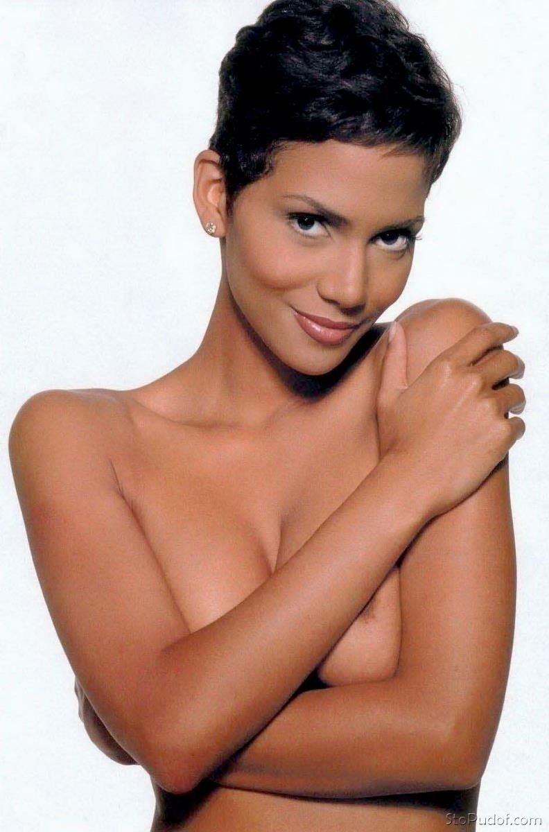 Leaked Halle Berry nudes (58 images), Paparazzi
