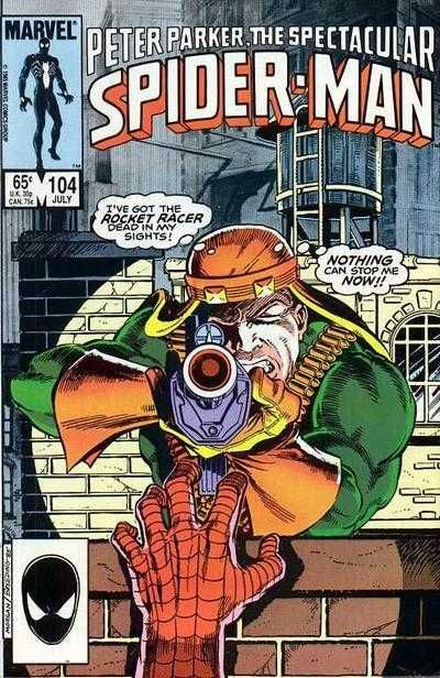 The Spectacular Spider-Man #104 - The Last Race