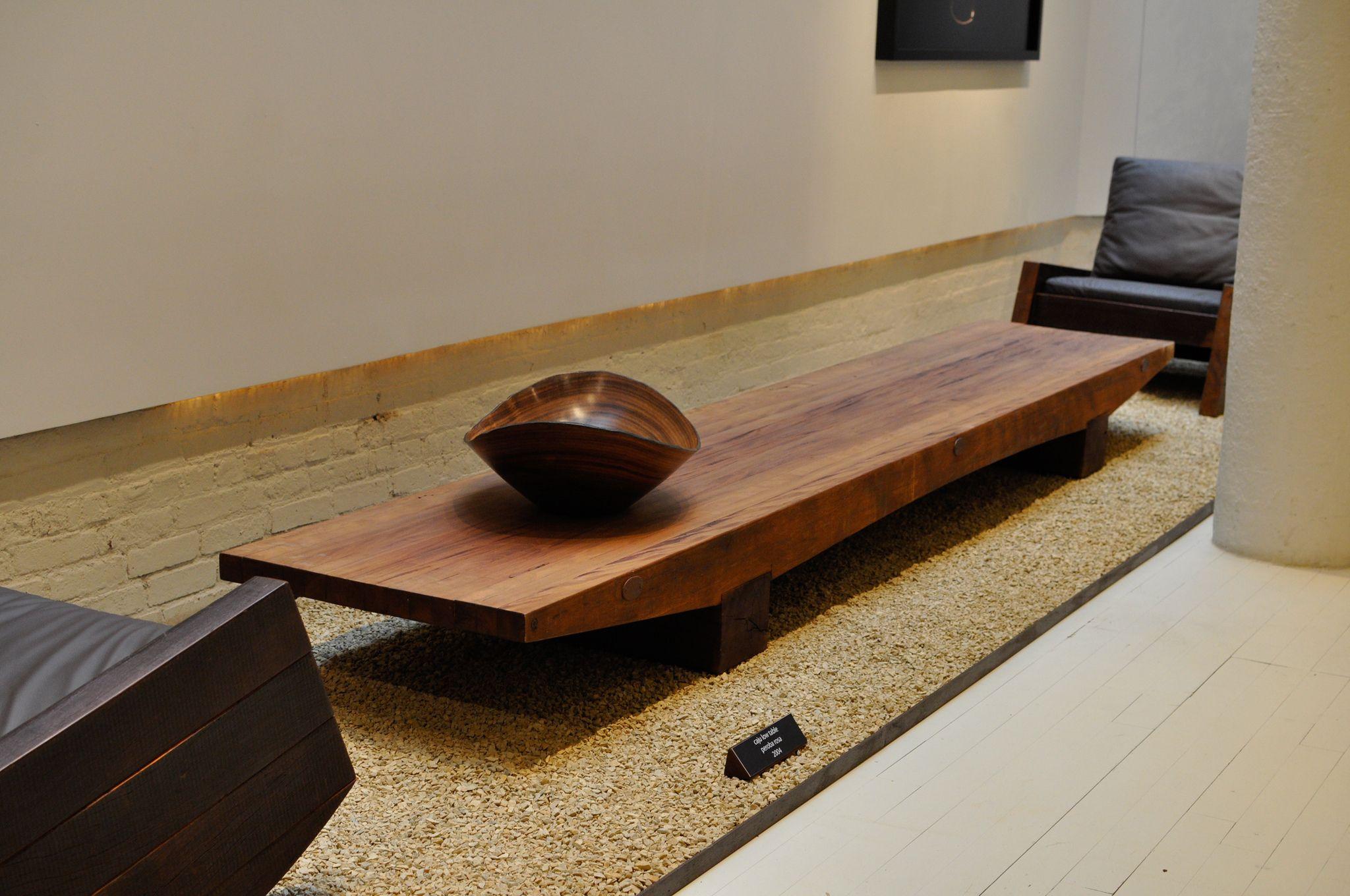 Caju Coffee Table Bench Designed By Carlos Motta Available At Espasso Contemporary Brazilian Design Coffee Table Coffee Table Bench Table [ 1360 x 2048 Pixel ]