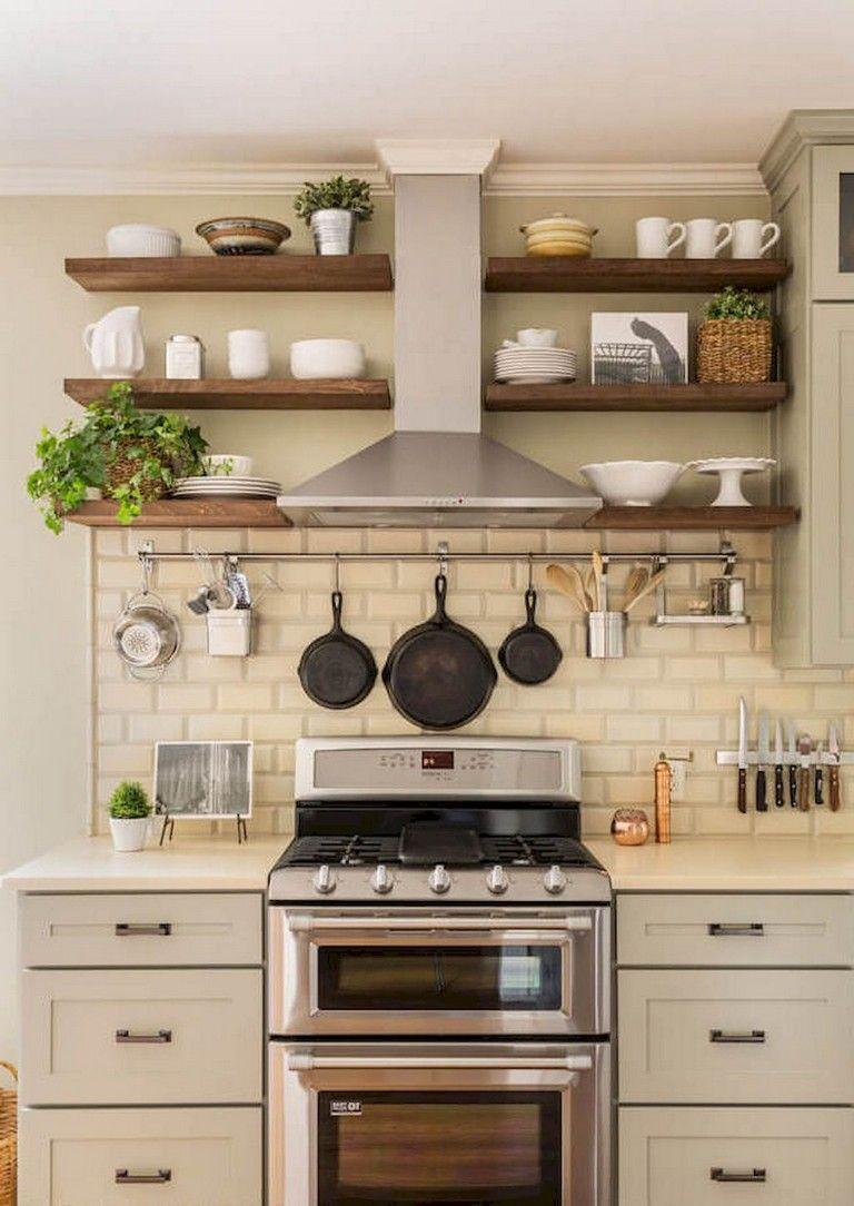 99 Amazing Farmhouse Kitchen Ideas Budget Small Apartment