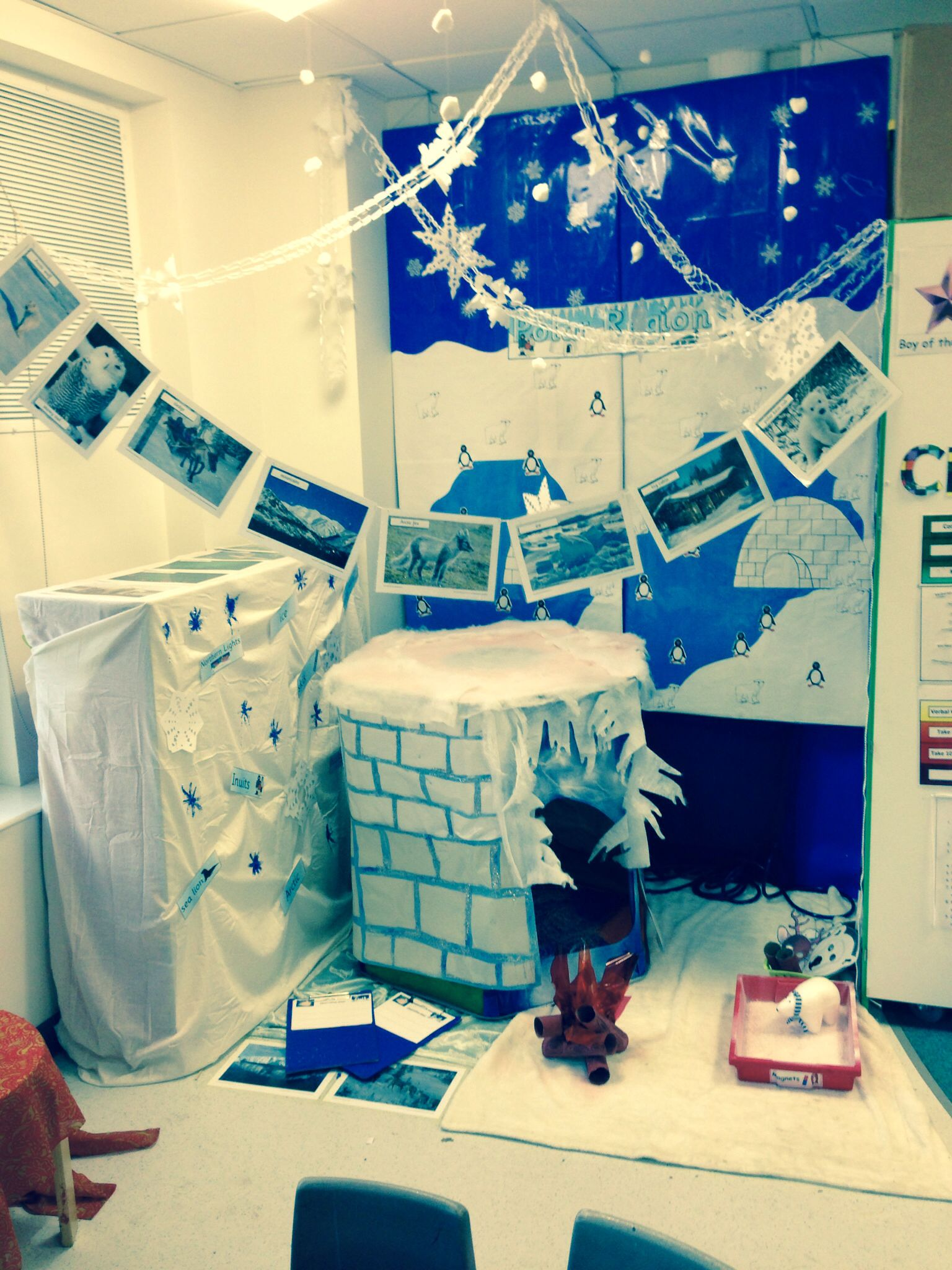 Role playing ideas for the bedroom eyfs winter role play for Role playing ideas for couples in the bedroom