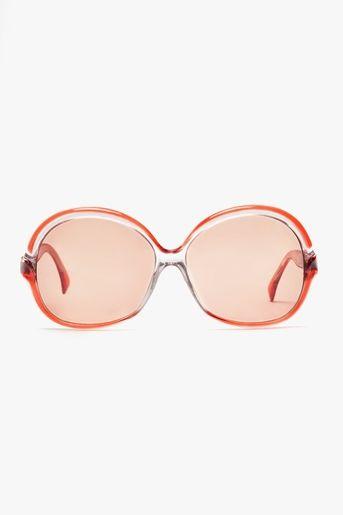 5d045e75d9 Vintage coral frames with rose colored lenses. Lanvin