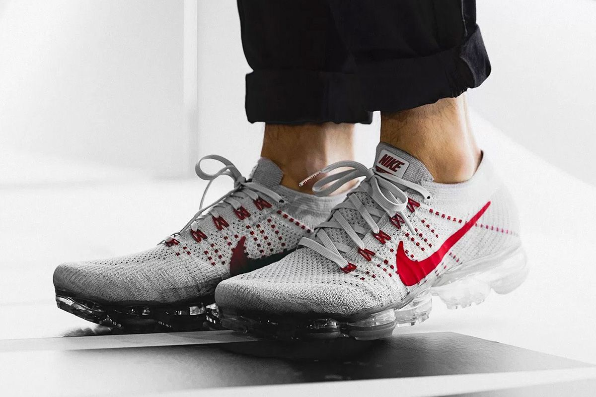 Nike Vapormax Flyknit Pure Platinum White Wolf Grey Air Max Day 3