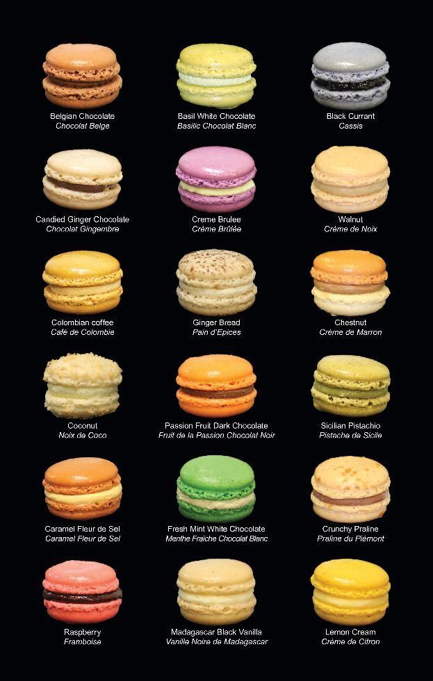 Le Macaron - flavors | Cooking | Pinterest | Macaron ...
