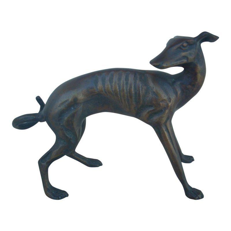 Antique Cast Bronze Dog Antiques Bronze Sculpture Art