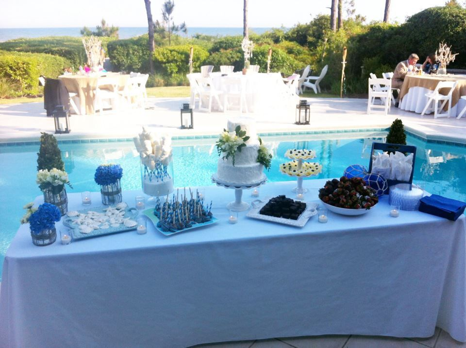 The Poolside Table Spread!