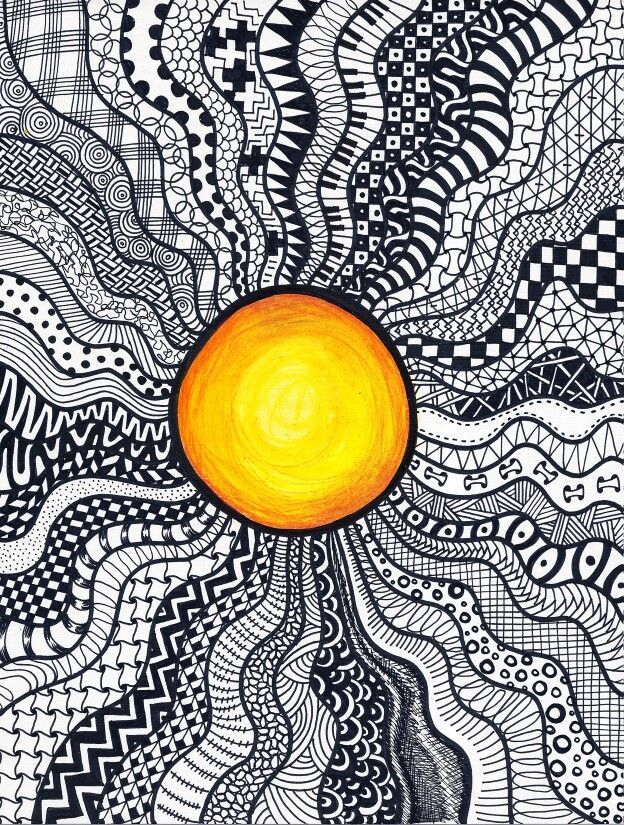 Image Result For Sun Doodle Patterns Step By Step Doodlingdrawing Interesting Doodle Patterns