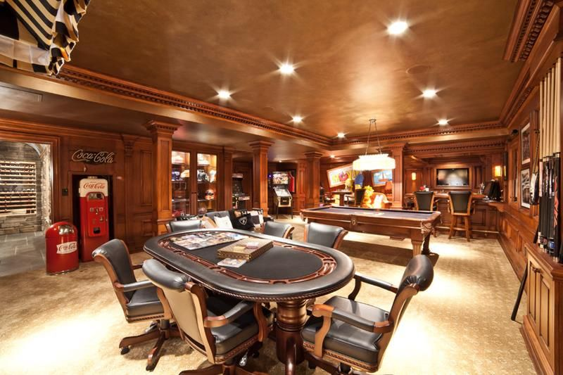 70 Man Caves In Finished Basements And Elsewhere Small Room