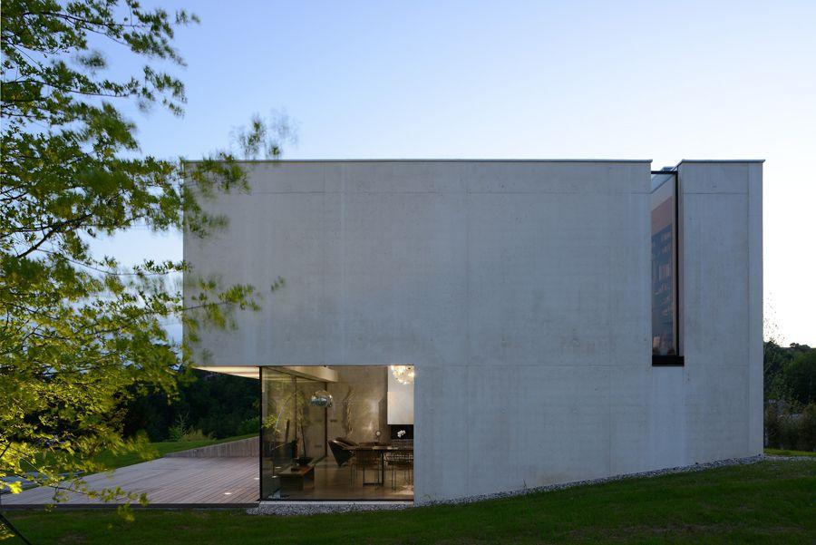 Pierre Minassian architecte - Maison Contemporaine minimaliste ...