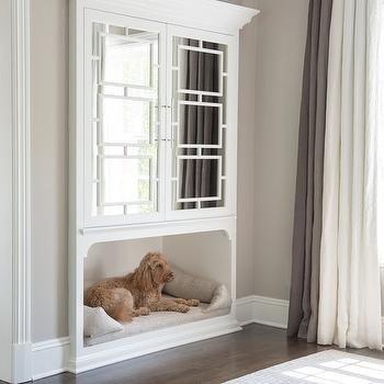 Dog Sleeping Beside Bed