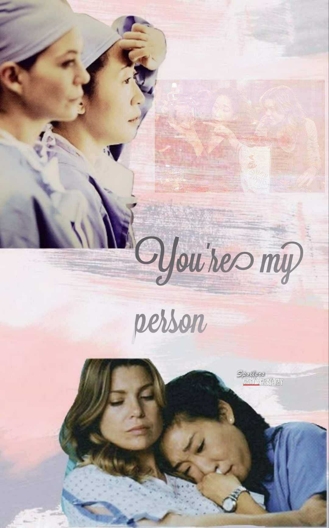 GreysAnatomy #Mertina #YouAremyPerson #Mer #Cristina | Greys ...