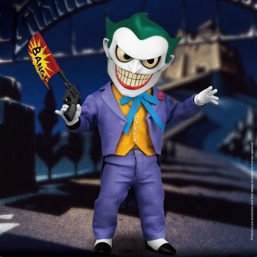 Bbts On Instagram Batman The Animated Series Egg Attack Action Eaa 102 Joker Px Previews Exclusive 79 9 Animation Series Batman The Animated Series Joker