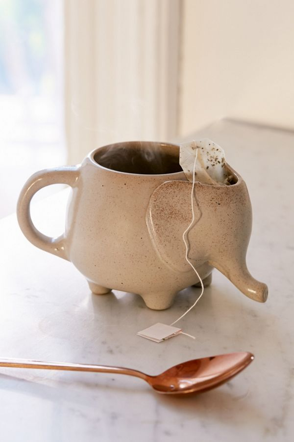 Elephant Tea Mug #ceramicmugs