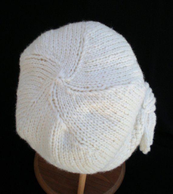 PDF Pattern Women Knit Cloche Hat - Flapper Cloche Hat | Products ...