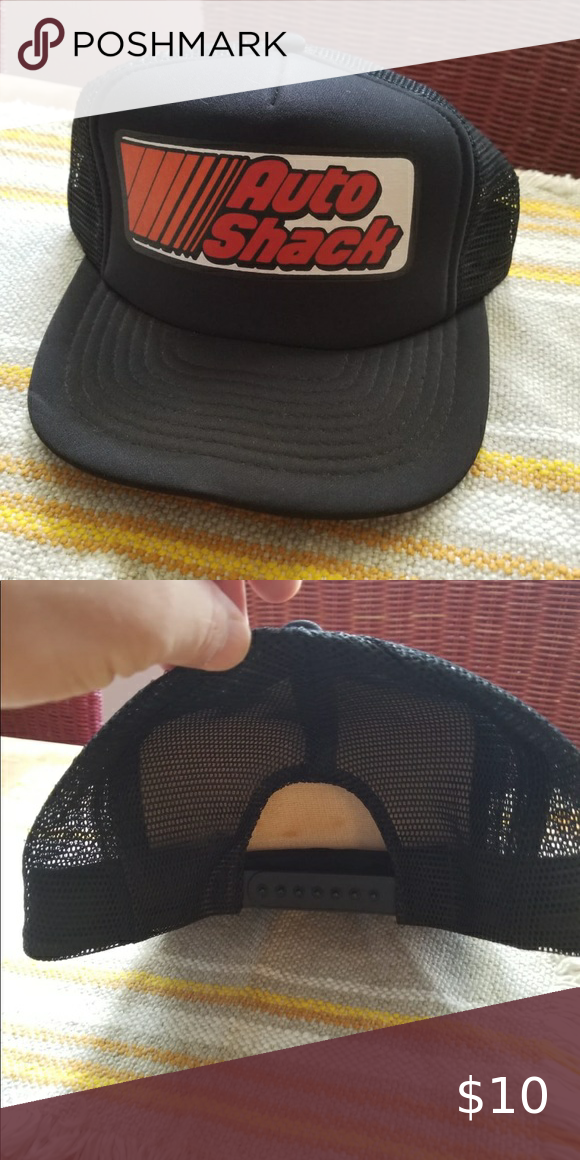 Vintage Auto Shack Trucker Hat Trucker Hat Hats Vintage Trucker