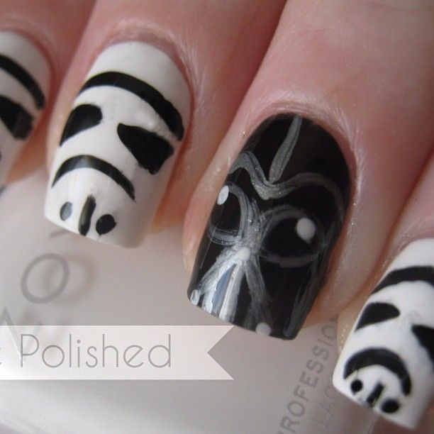 For our Star Wars fans... @bee_polished | Nail Art | Pinterest ...