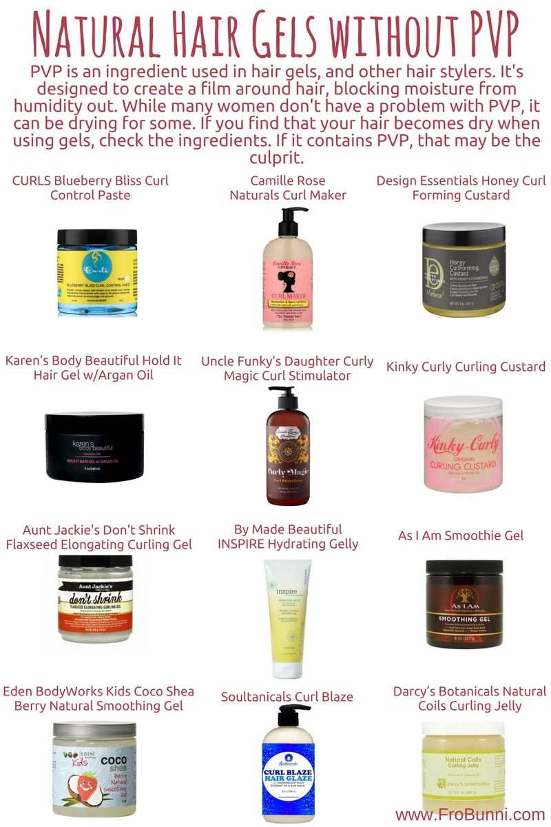 Natural Hair Gels Without Pvp With Images Natural Hair Gel