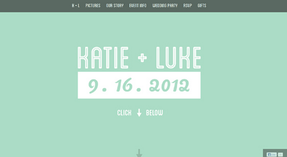 Wedding Website Ideas | 25 Most Creative And Wonderful Wedding Website Ideas Website Ideas