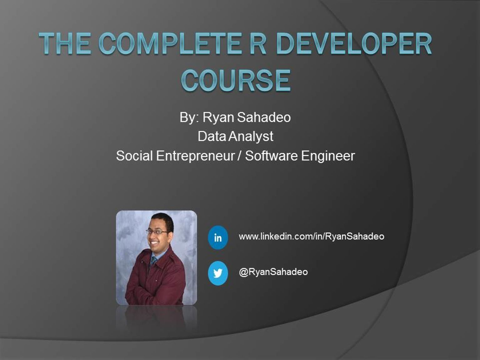 Get the Complete R Web Developer Course + goodies today for as little as $10!  Learn how to become a Data Analyst with no coding experience required!   Donate Now: http://kck.st/1iZbd17  I AM A BACKER TOO!!!  Data Analysis is becoming a fundamental part of the way we live, work, and play. Learn how to analyze data today!  Please share this campaign with your crowdfunding network.   #R #coding #developer #training #kickstarter #ad