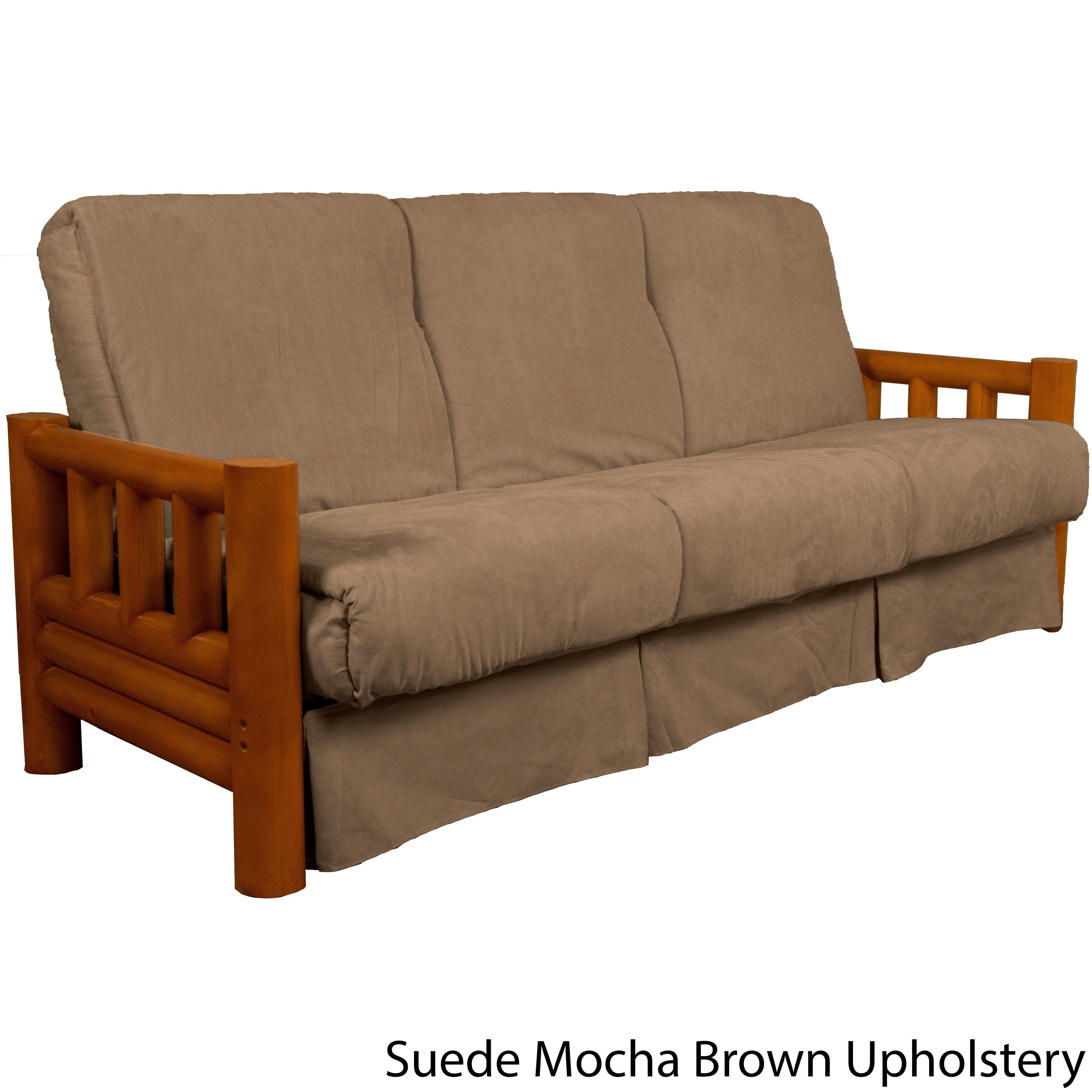 Astonishing Pine Canopy Tuskegee Lodge Style Pillow Top Sofa Sleeper Bed Ocoug Best Dining Table And Chair Ideas Images Ocougorg