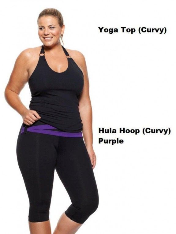 305536614d Plus Size Workout Separates     I want this workout outfit ...