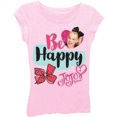 Jojo Siwa Girls /'Dream Crazy Big/' Short Puff Sleeve Graphic T-Shirt Size 7-16