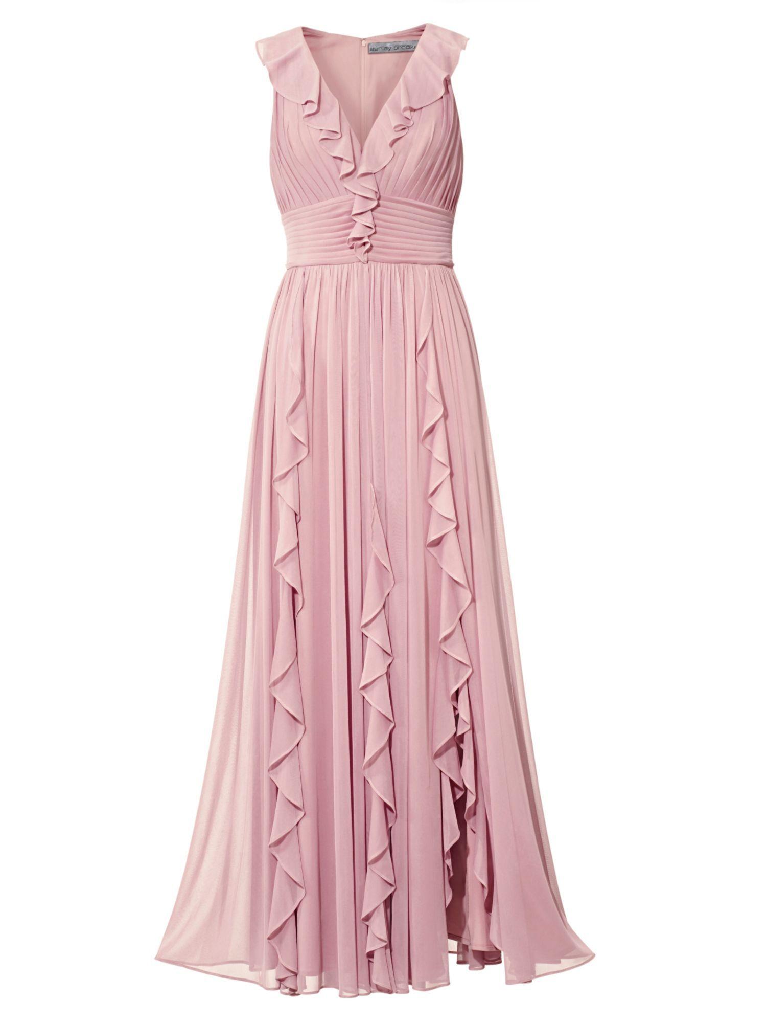 TIMELESS Abendkleid mit Volants   Abendkleid, Kleider ...