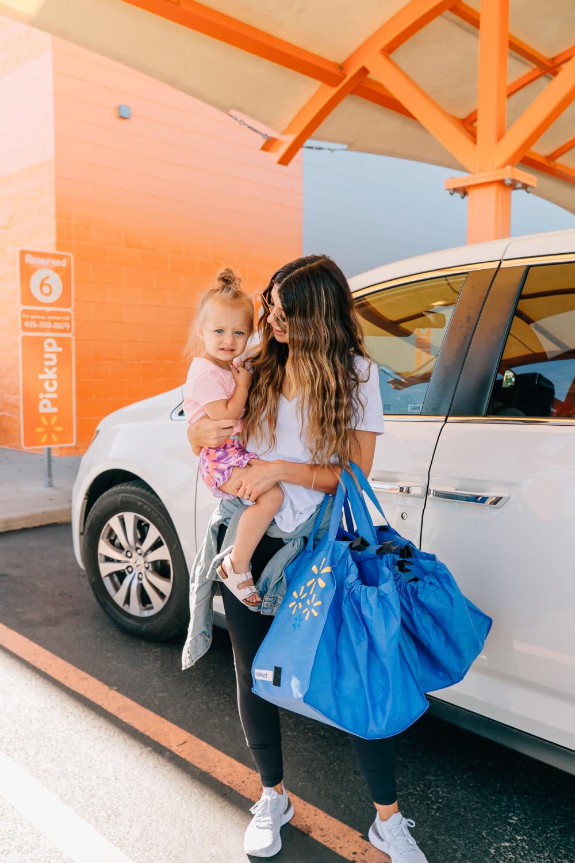 Walmart Grocery PickUp Review Kids running, Fashion